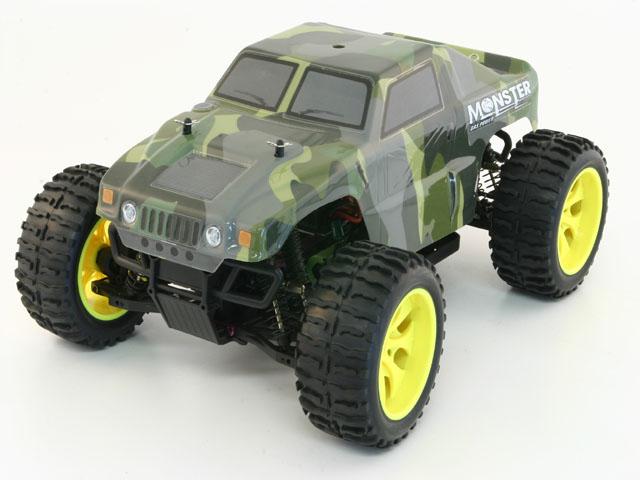 1/10 AUTO RADIOCOMANDATA MONSTER TRUCK