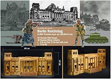 1/72 BATTLE SET BATTLE FOR THE REICHSTAG BERLIN 1945