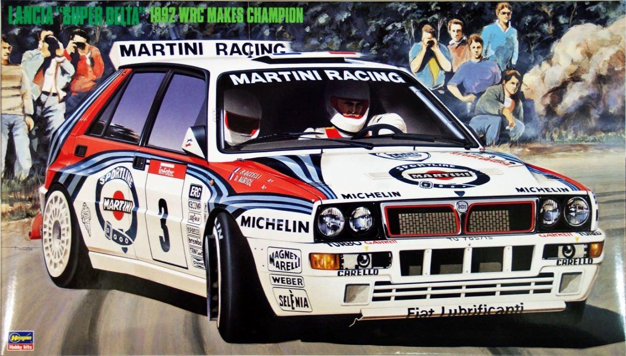 1/24 LANCIA DELTA HF 92 WRC