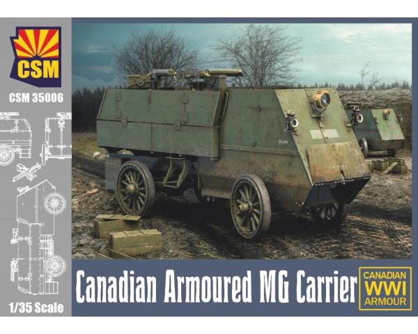 1/35 Copper State Models: ; Canadian Armoured Machine Gun Carrier