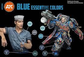 AK BLUE ESSENTIAL COLORS 3GEN SET