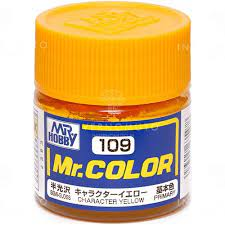 MR COLOR LACCA CHARACTER YELLOW