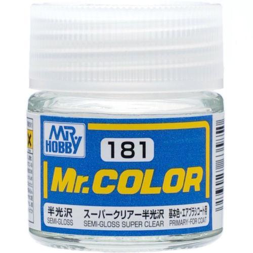 MR COLOR LACCA SEMI-GLOSS SUPER CLEAR