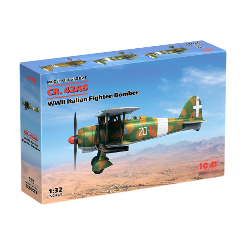 1/32 CR. 42AS, WWII Italian Fighter-Bomber