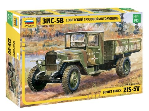 1/35 Soviet Truck ZIS-5V