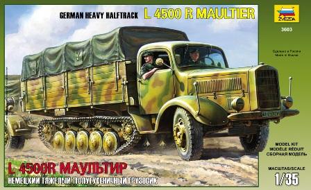 1/35 German Heavy Halftrack L4500 R