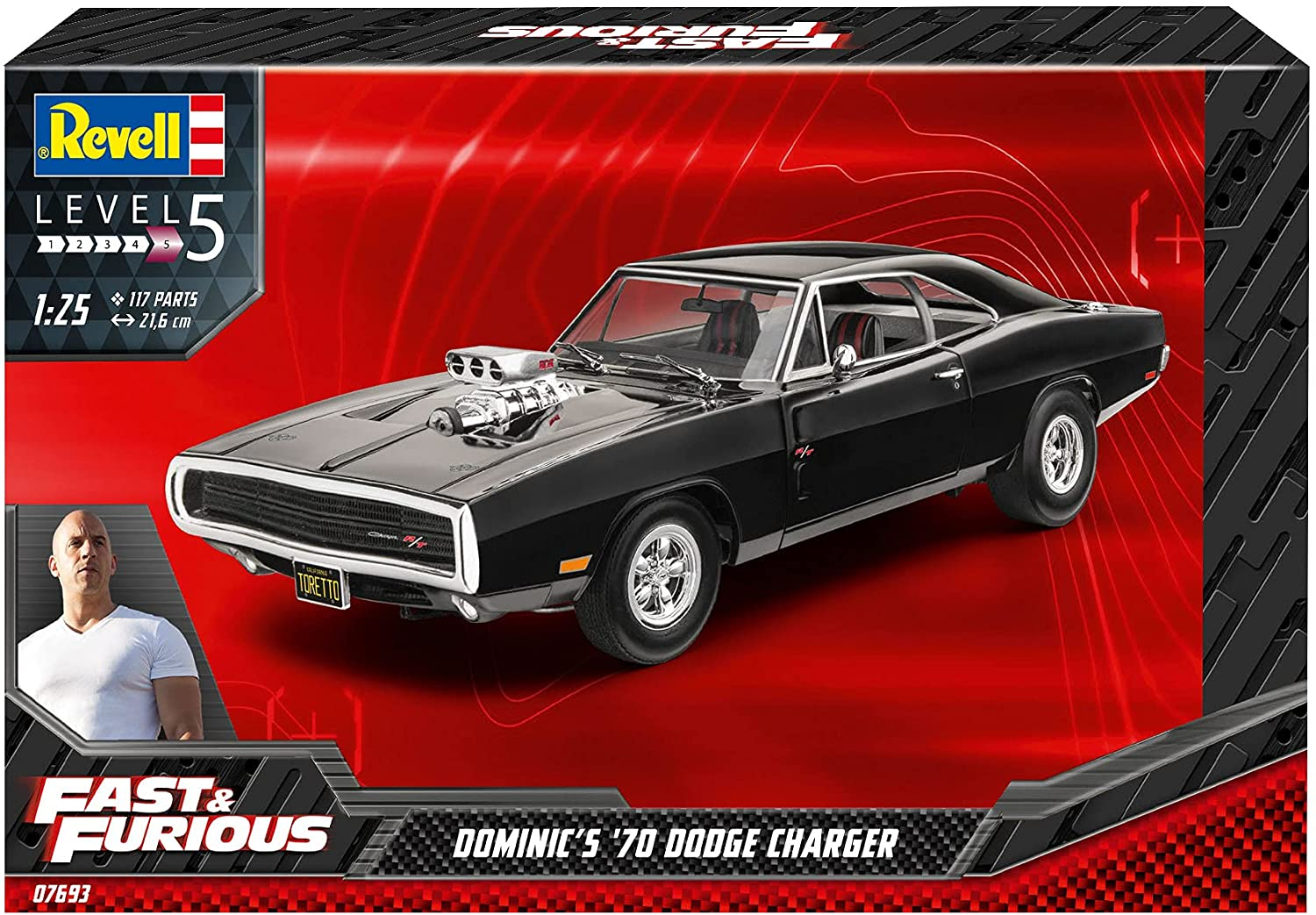 1/25 Fast & Furious - Dominic's 1970 Dodge Charger