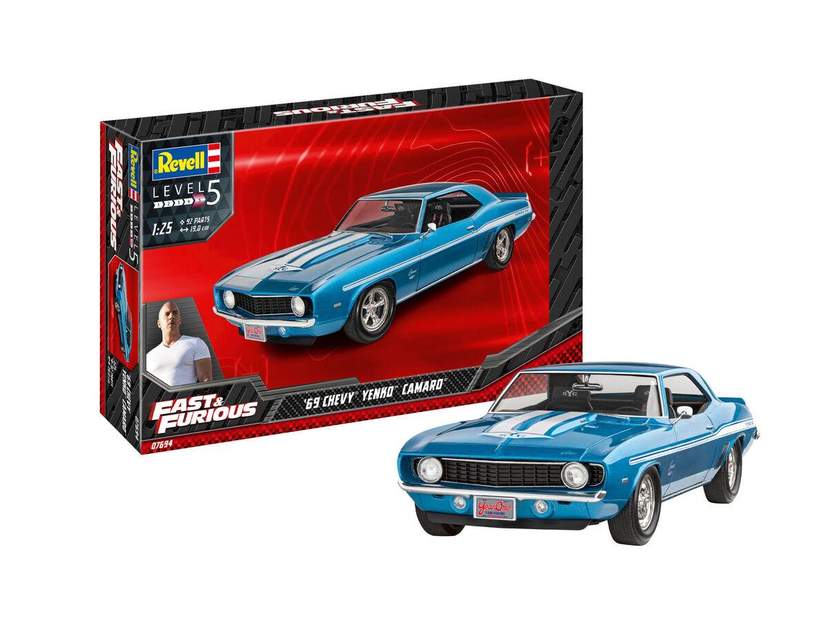 1/25 Fast & Furious - 1969 Chevy Yenko Camaro