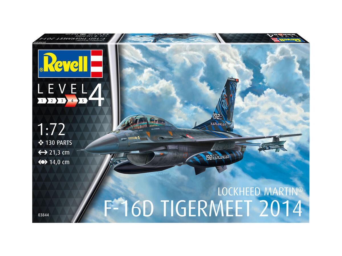 1/72 Model Set F-16D Fighting Falcon