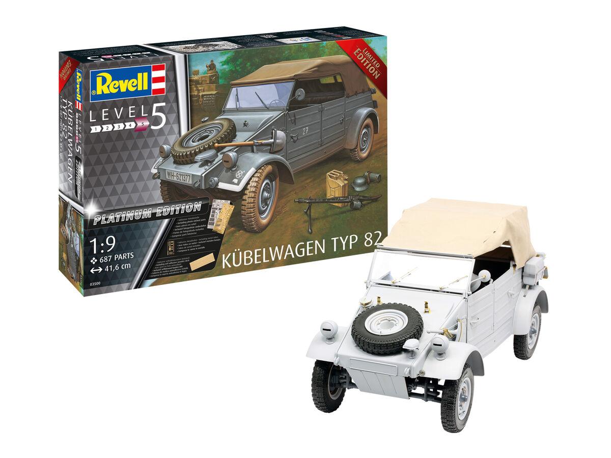 1/9 Kubelwagen Typ 82 [Platinum Edition]