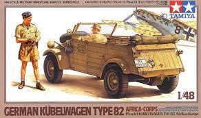1/48 German Kubelwagen Type 82 Africa-Corps