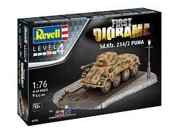 1/76 First Diorama Set - Sd.Kfz.234/2 Puma