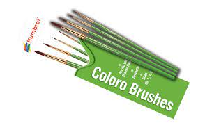 Coloro Brush Pack [Size 00, 1, 4, 8]