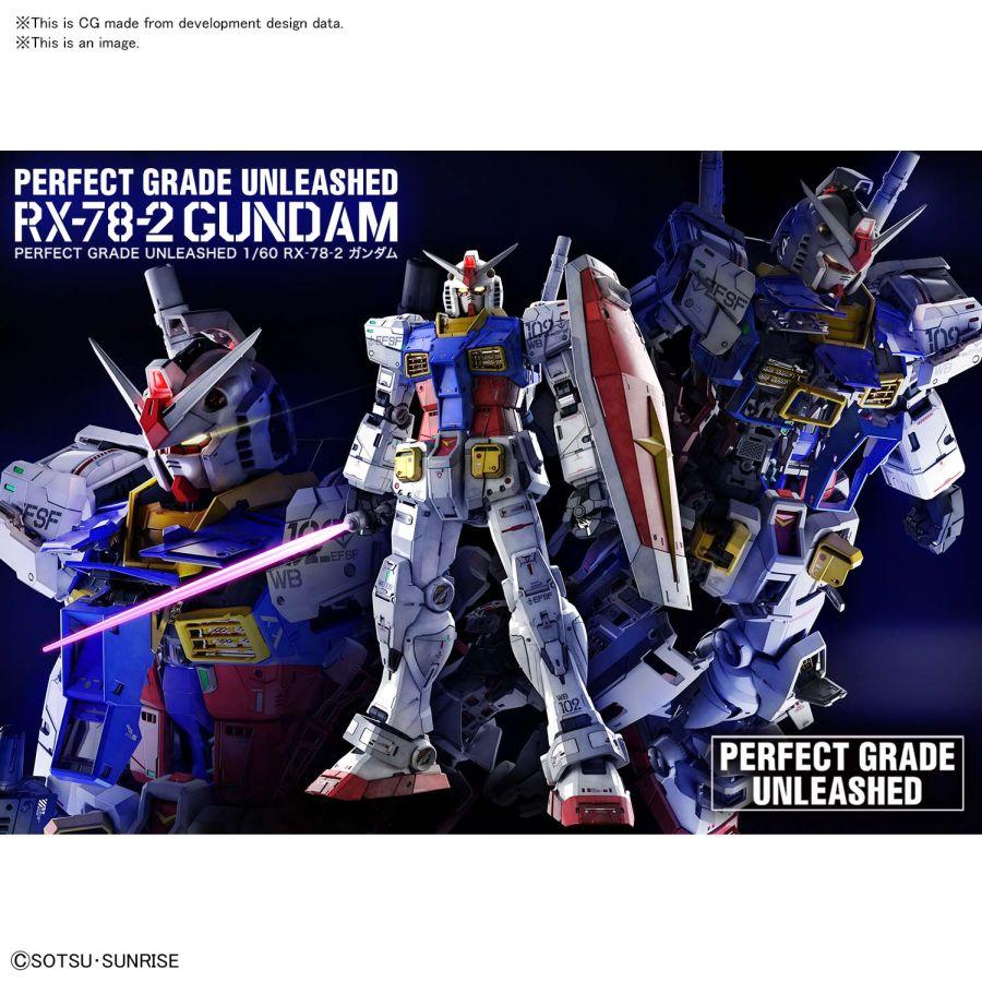 1/60 PG GUNDAM RX-78-2 UNLEASHED
