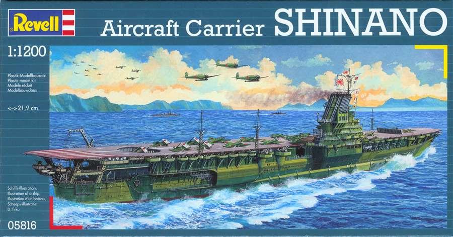 1/1200 AIRCRAFT CARRIER SHINANO