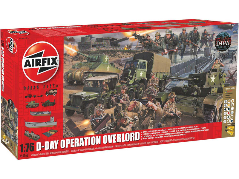 1/76 D-Day 75th Anniversary Operation Overlord Gift Set