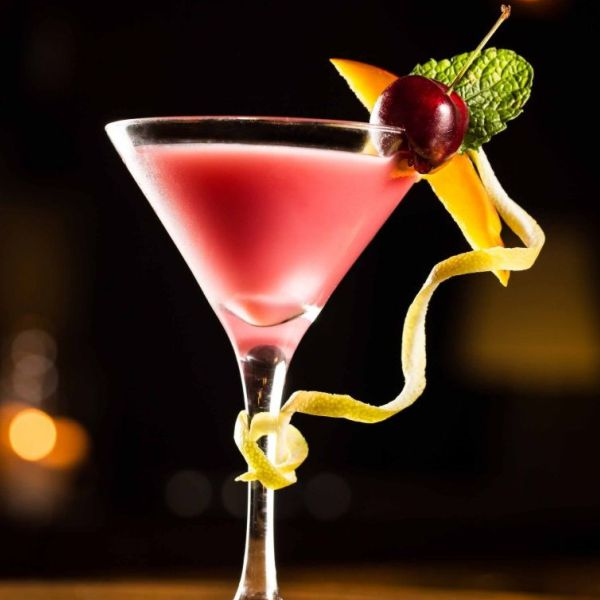 Red mocktail analcolico