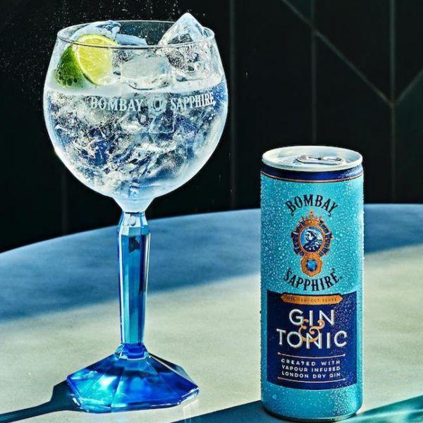 Bombay Sapphire + Tonica